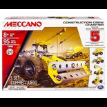 Meccano 5 Model Set Construction Crew Chantier