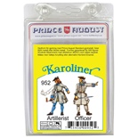 Prince August Karoliner Artillerist & Officer