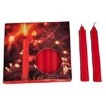 Julgransljus Röda 20-Pack