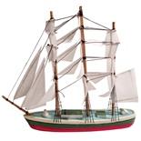 Prydnads Segelbåt i Trä 20 cm