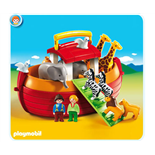 Playmobil 1-2-3 Take Along Noaks Ark