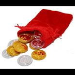 Guldmynt med Pengapåse