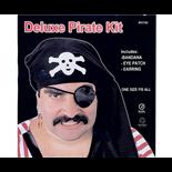 Pirat Bandana och Ögonlapp
