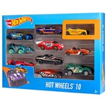 Hot Wheels Bilar 10-pack