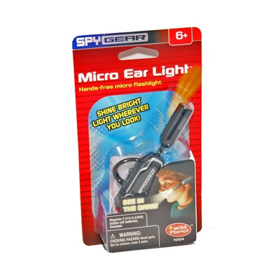 Spy Gear Micro Ear Light