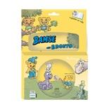Kärnan Sago-CD och Bok Bamse och Bronto