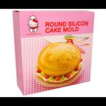 Hello Kitty Rund Silikonform