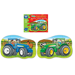 Orchard Toys 2-sidigt Pussel Little Tractor
