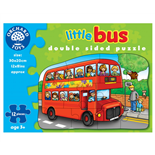 Orchard Toys 2-sidigt Pussel Little Bus