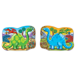 Orchard Toys 2-sidigt Pussel Dino Diplodocus