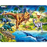 Larsen Pussel 57 Bitar Dinosaurier