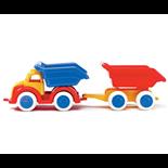 Viking Toys Tipplastbil med släp 26 cm
