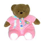 K´s Kids Nalle 33 cm Rosa