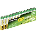 GP Super Alkaline AAA Batterier 12-pack