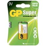 GP Super Alkaline 9V Batteri