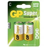 GP Super Alkaline C Batteri 2-Pack