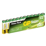 GP Super Alkaline AA Batterier 12-Pack