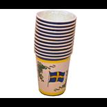 Pappersmuggar Svensk Flagga