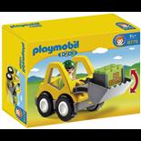 Playmobil 1-2-3 Hjullastare