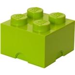 LEGO Förvaringslåda 4 Lime