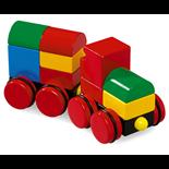 BRIO Byggtåg med Magneter
