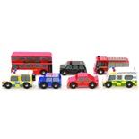 Le Toy Van Bilar i Trä London