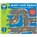 Orchard Toys Pussel 20 Bitar Giant Road