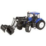 Bruder New Holland T8040 med Frontlastare
