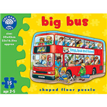 Orchard Toys Pussel 15 Bitar Big Bus