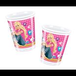 Plastmuggar Barbie