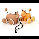 BRIO Dragleksaker Simba och Nala