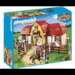 Playmobil Stor Hästgård med Hagar