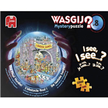 Wasgij Mystery Pussel 1000 Bitar Nr 8 The Final Hurdle