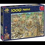 Jan van Haasteren Pussel 1000 Bitar Castle Conflict