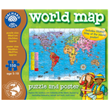 Orchard Toys Pussel 150 Bitar World Map