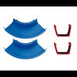 AquaPlay Kurvor med kopplingar 2-pack