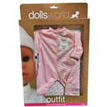 Dolls World Dock-kläder 41cm 1 st