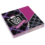 Monster High Pappersservetter