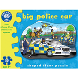 Orchard Toys Pussel 30 Bitar Big Police Car