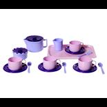 Plasto Kaffeservis Rosa