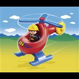 Playmobil 1-2-3 Brandkårshelikopter