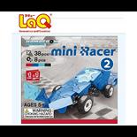 LaQ Hamacron Constructor Mini Racer Nr 2 Blå