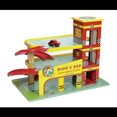 Le Toy Van Garage Dino´s Röda