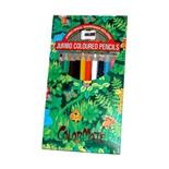 Träfärgpennor Jumbo 12-Pack