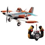 Dickie Disney Planes R/C Driving Plane Dusty 1:24