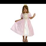 Den Goda Fen Prinsessklänning Rosa sammet