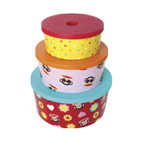 Paul Frank Förvaringslådor 3-pack Girls 2