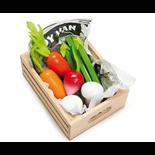 Le Toy Van Grönsaker i trälåda