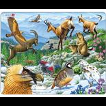 Larsen Pussel 55 Bitar Alpina djur
