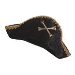 Den Goda Fen Piratkapten Hatt med Guldkant